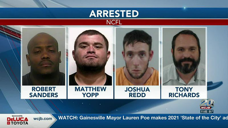 Multiple people busted for stealing and selling heavy machinery in Columbia and Suwannee counties