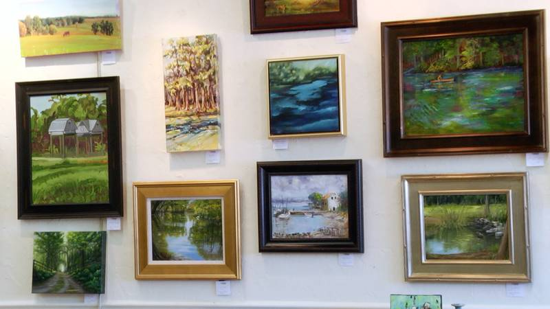 North Central Florida art galleries hosting month-long exhibit showcase