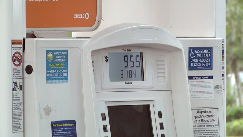 Gas prices have gone up almost a dollar more per gallon in a year's time.
