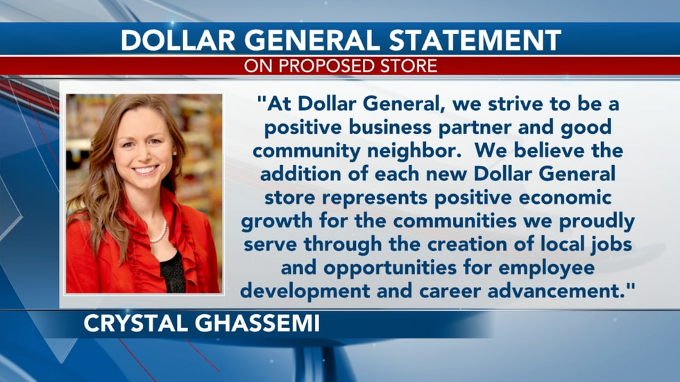 Director of Public Relations at the retail chain, Crystal Ghassemi tells TV20, Dollar General is still in the due diligence phase.