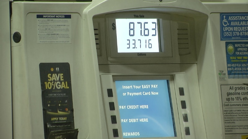 Gas prices are rising in part because of the bad weather conditions in Texas, which forced...