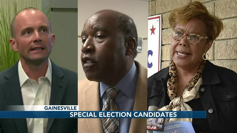 Gainesville special election candidates