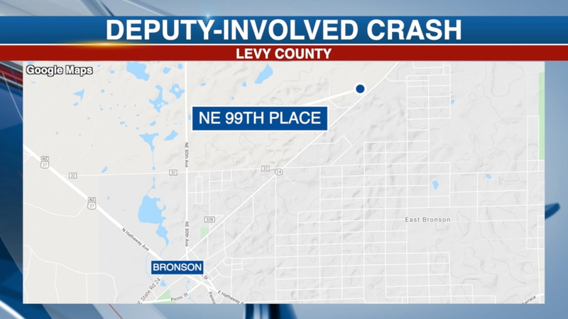 Suspected drunk driver crashes into parked Levy County Sheriff patrol car