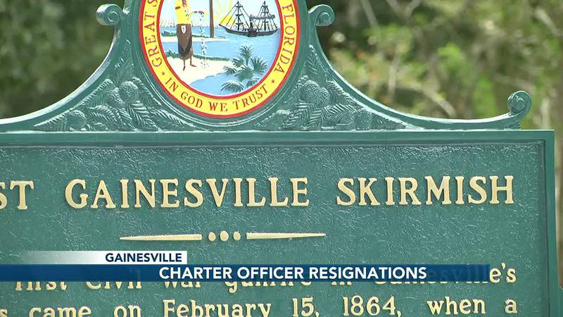 Gainesville skirmish sign