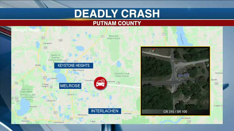 Gainesville man dead after crashing into log truck in Putnam County