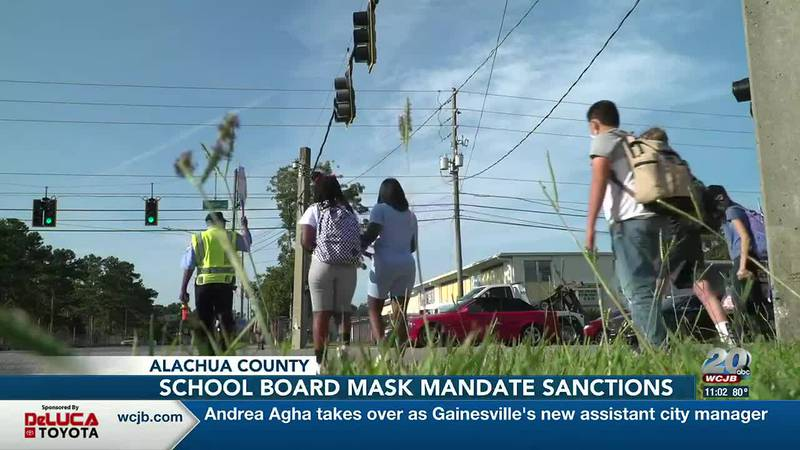 Education Commissioners threat to continue withholding Alachua County School Board members...