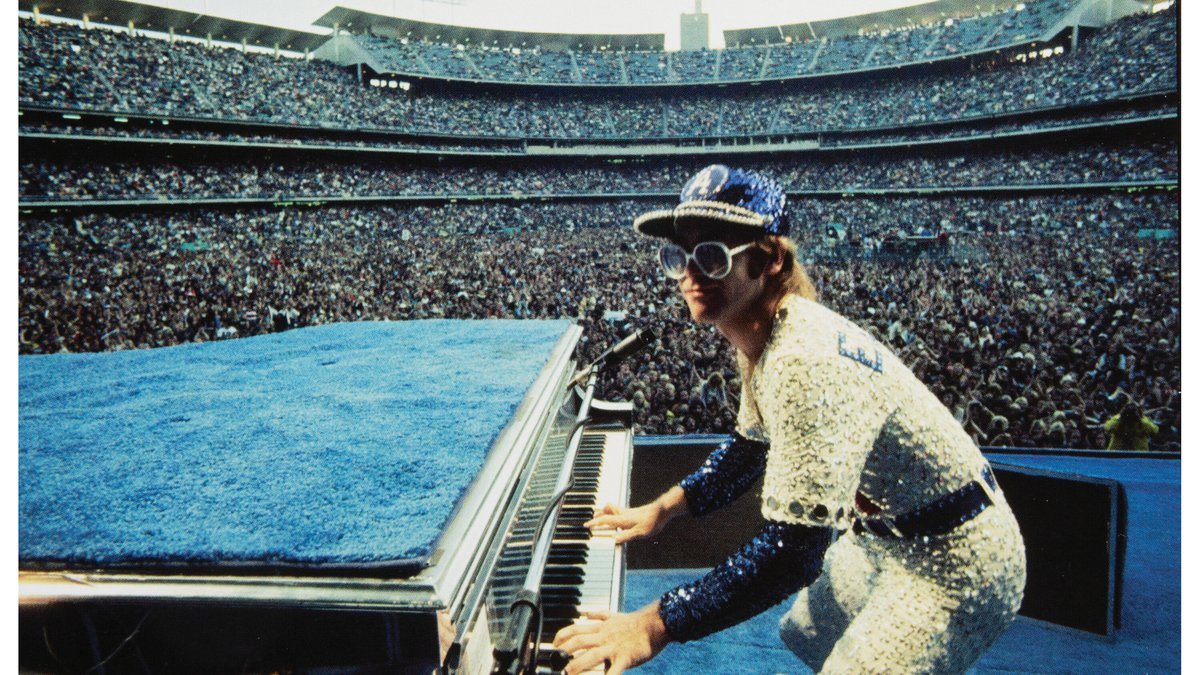 Elton John used the Steinway grand piano on tour for some 20 years.