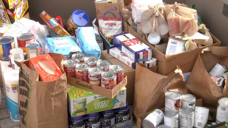 Everything that was collected will be split evenly among three local charities: Brother's...