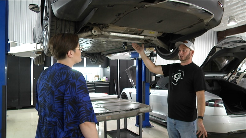 Electrified Garage in Ocala is one of the only EV repair shops in north central Florida.