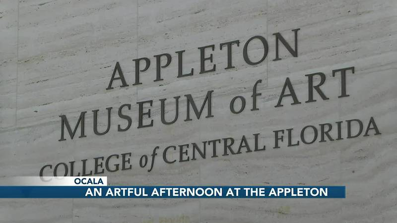 An artful afternoon at the Appleton