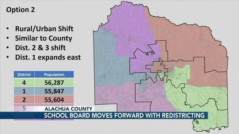Alachua County School Board votes to redraw board member's district boundaries