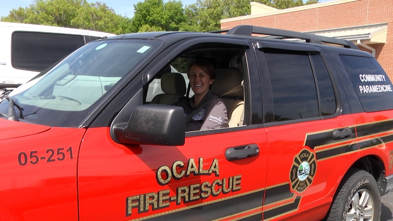 The 14 year first responder is involved in the paramedicine program and is critical care...