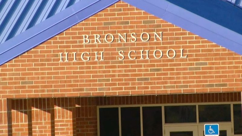 In a TV20 exclusive, a 12-year-old student at Bronson Middle-High School said he was punched in...