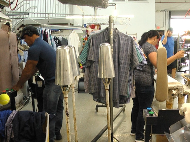 Dry Cleaning Business Re Opens With A Little Assistance