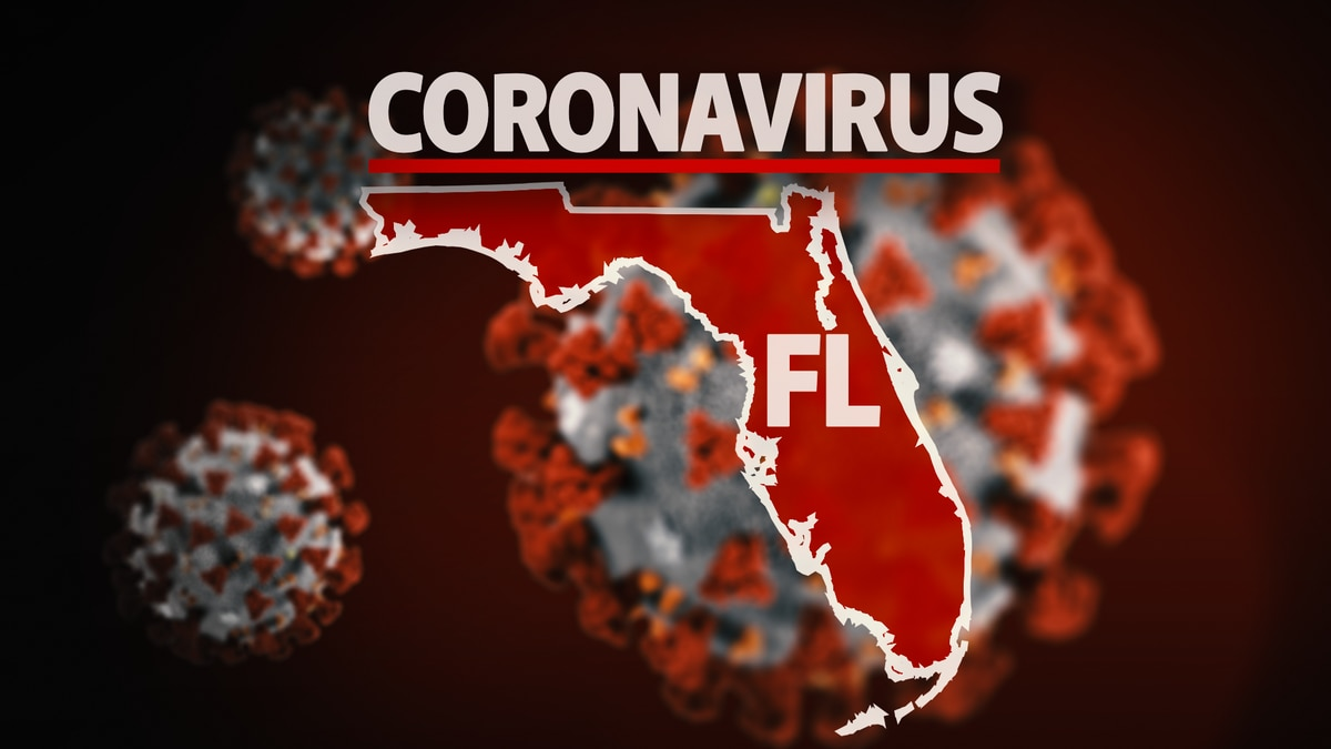 Florida reports another 3,822 cases of COVID-19, new one-day record