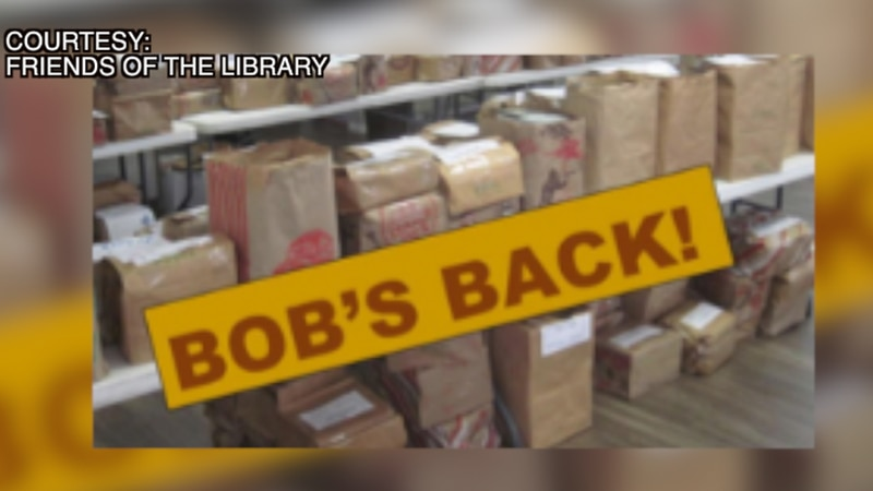 Friends of the Library prepare for Bag of Books sale