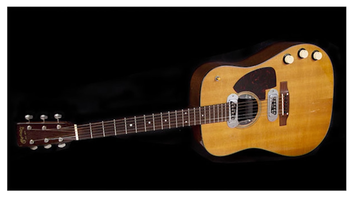 Kurt Cobain's 'Unplugged' Guitar Sells for $6 Million at Auction