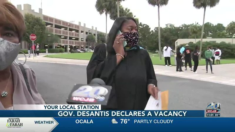 Gov. DeSantis declares Diyonne McGraw's District 2 seat vacant, allowing him to fill the void...