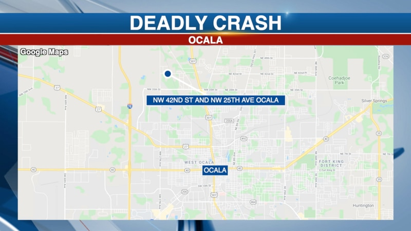 A 14-year-old has died after crashing his grandmother's car in Ocala