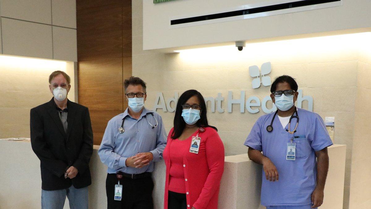The ICAM team (Left to Right) Dr. Stanley Mikowski, Dr. Ken Barrick, Dr. Carlette...