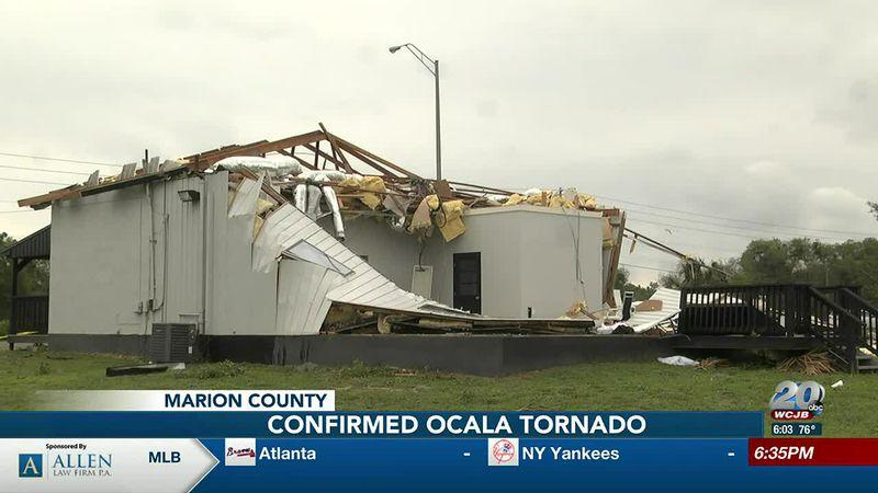 Confirmed tornado in Ocala Sunday evening