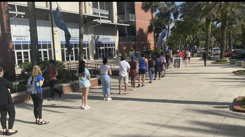 Alachua County's largest vaccine event held at Ben Griffin Stadium, 16 and up now eligible