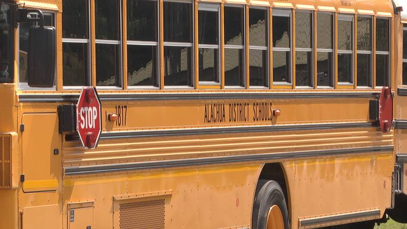 The school district recently purchased a new fleet of school busses, and rather than auction...