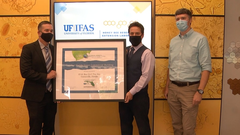 University of Florida Honeybee Lab recognized for sustainable commercial building project