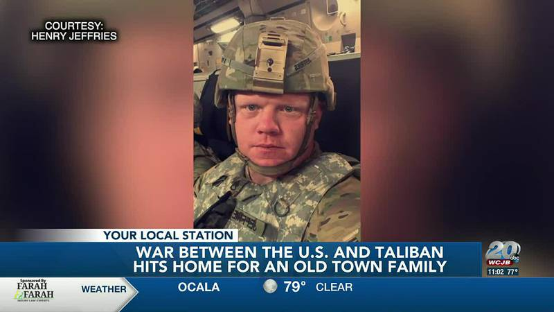 War in Afghanistan hits close to home for an Old Town family as their loved one is serving in...
