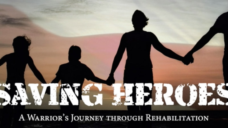 """""""Saving Heroes"""": NCFL veteran publishes book helping military and first responders overcome PTSD"""