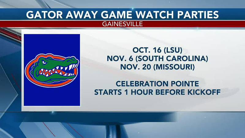 Celebration Pointe to hold UF Football watch parties