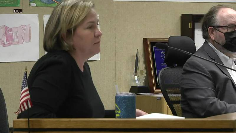 Alachua County School District Superintendent responds to an order from the Florida Department...