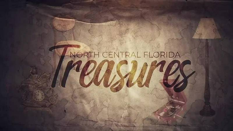 Take a look at a beautiful painting in this week's North Central Florida Treasures.