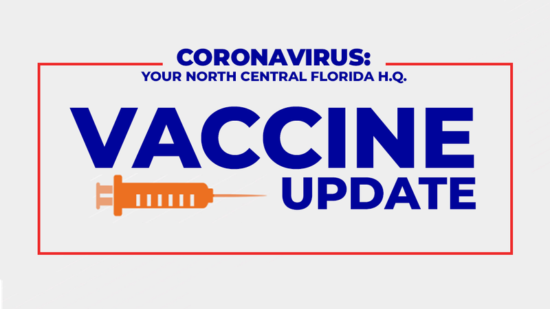 WCJB's NCFL COVID-19 Vaccine headquarters