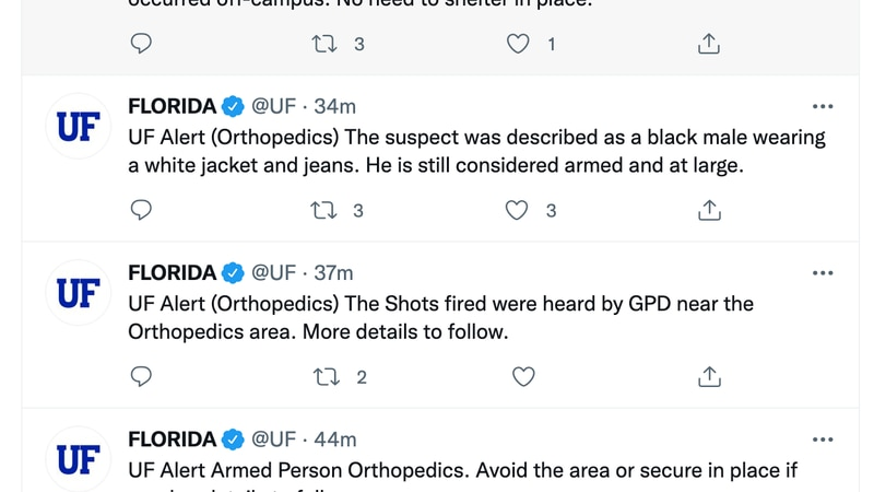 UF armed person