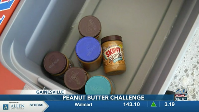 Donate jars of peanut butter to your local IFAS Extension office