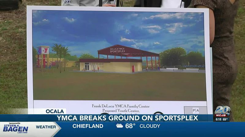 "At the Frank DeLuca YMCA in Ocala Wednesday morning, ""Y"" staff and board members broke ground..."