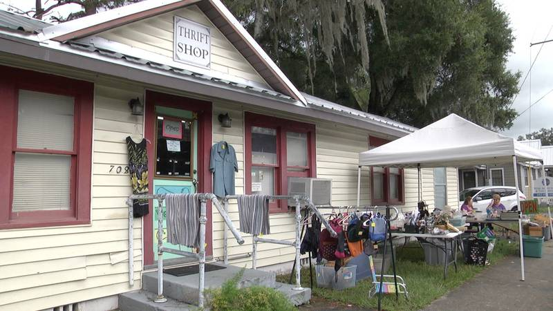 Tri-County Thrift Store holds charity yard sale to benefit food pantry