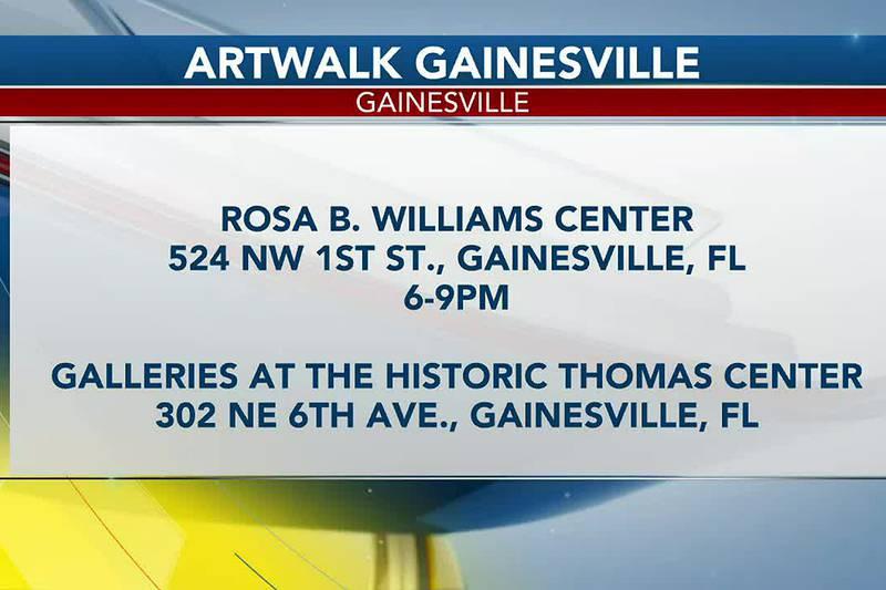 Gainesville artwalk