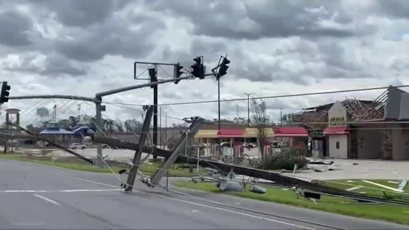 Hurricane Ida has left extensive damage in Louisiana, and evacuees are being told stay away for...