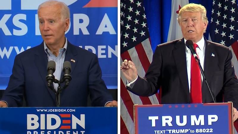 Trump and Biden battle for voters in the 2020 Presidential elections