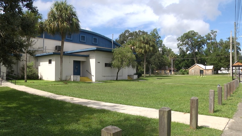 Ocala city leaders are planning the design of a new public art mural on the the E.D. Croskey...