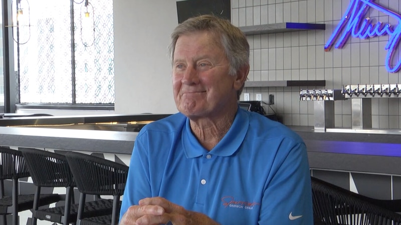 Gators legend Steve Spurrier opens up about his new restaurant in Gainesville.