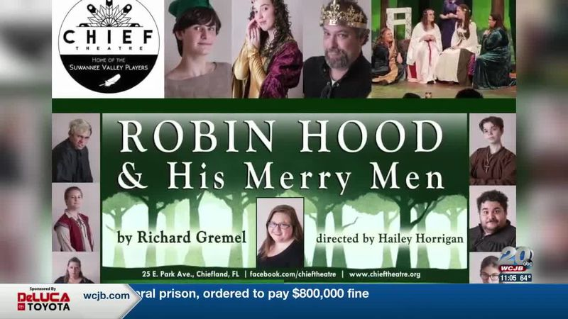 "Chief Theatre will be reopening and opening its doors to perform "" Robin Hood & his Merry Men """
