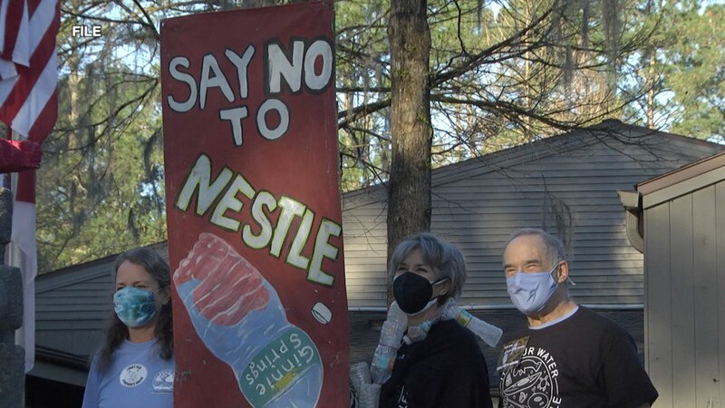 Nestle is approved to begin receiving nearly a million gallons of water a day pumped from...