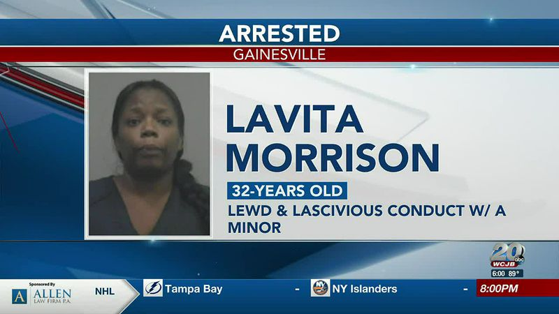 Gainesville Police arrests local woman for having sex with a minor