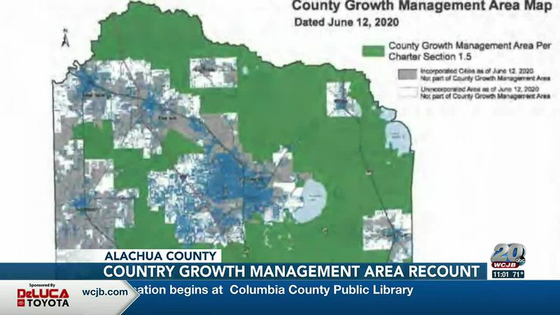 County Growth Management map