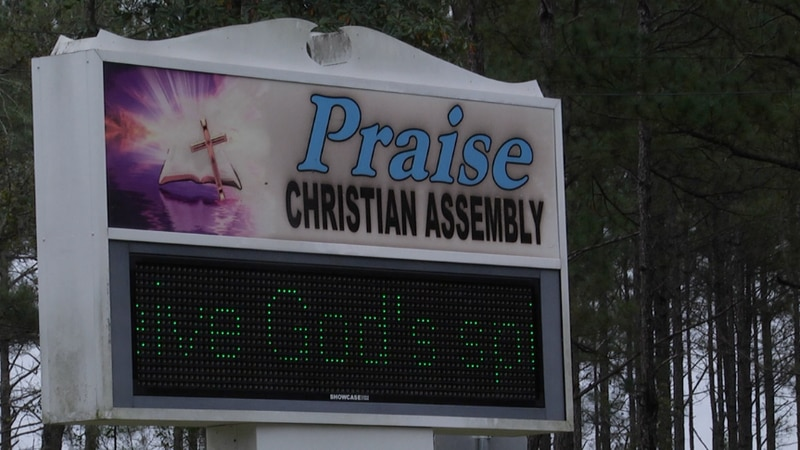 A local church is helping those in need by giving out clothes, food, and shoes. Praise...