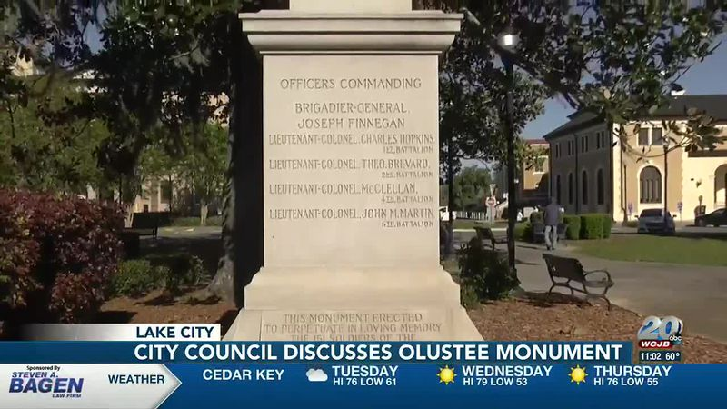 Fate of Olustee monument lies in the hands of city officials as county leaders hand the land over