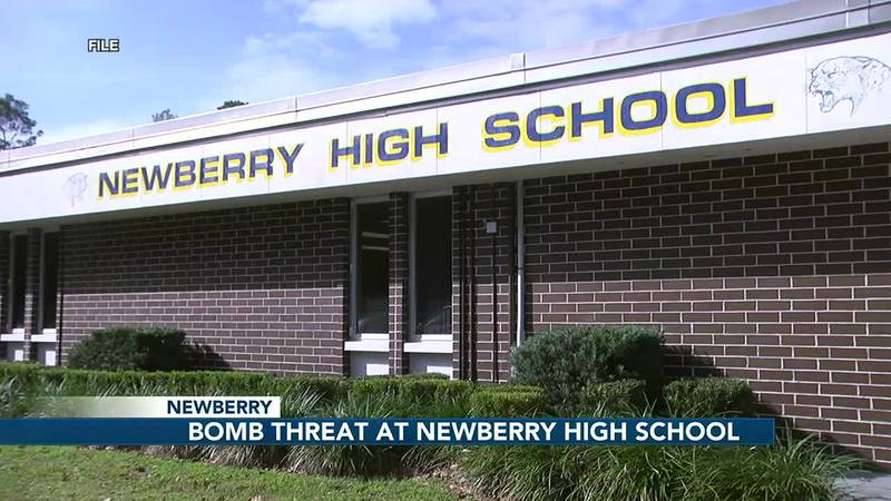 Newberry High School students evacuate to West Park due to bomb threat